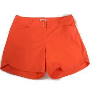 Adidas Women's Size 8 Orange Walking Golf Shorts